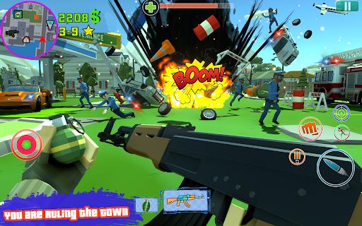 Grand City Theft War: Polygon Open World Crime 2.1.7 screenshots 1