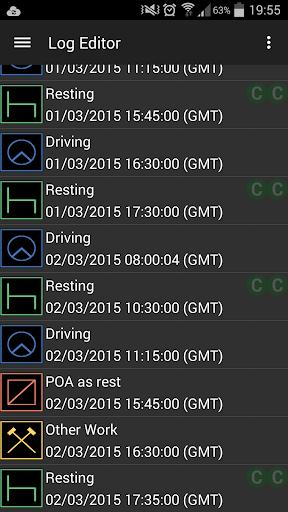 TachoGuard Driver's Tachograph  screenshots 8
