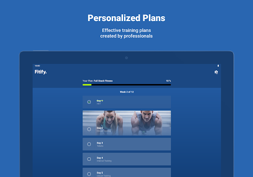 Fitify: Workout Routines & Training Plans android2mod screenshots 18