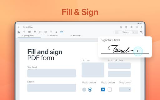 Xodo PDF Reader & Editor apktram screenshots 8