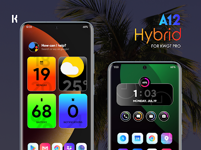 A12 Hybrid for KWGT (MOD APK, Paid/Patched) v1.2 3