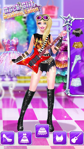 ud83cudf99ufe0fud83dudc67Music Girl Makeup Salon - Rock Star Dress Up  screenshots 18