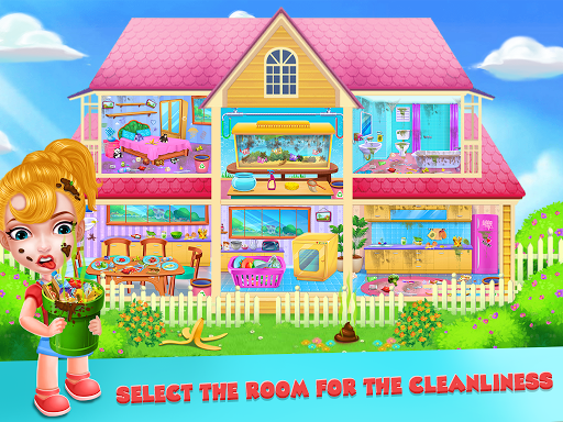 Keep Your House Clean - Girls Home Cleanup Game 1.2.61 screenshots 2