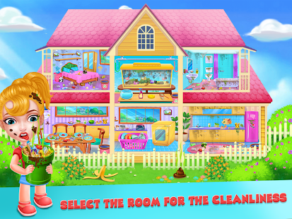 Keep Your House Clean - Girls Home Cleanup Game 1.2.60 Screenshots 2