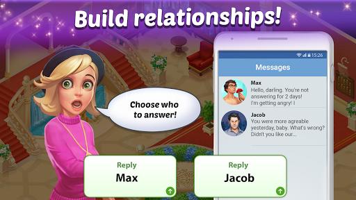 Family Hotel: Renovation & love storyu00a0match-3 game 1.98 Screenshots 12