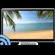 Beaches on TV via Chromecast