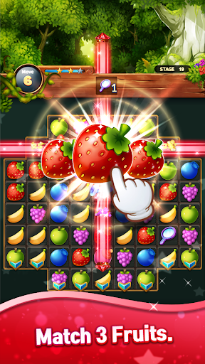 Sweet Fruits POP : Match 3 Puzzle screenshots 17