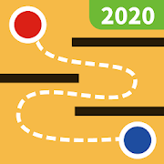 Drag 2 touch (Maze puzzle, fun & mystery maze game