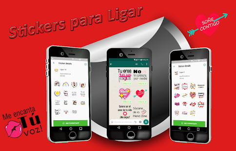 Stickers para Ligar WAStickerApps Screenshot