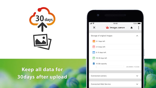 Image Canon App on Andorid