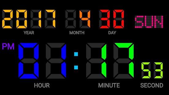 Make original Digital Clock  DIGITAL CLOCK MAKER