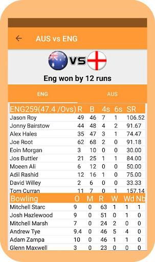 watching live cricket score screenshot 2