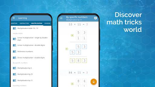Math games: arithmetic, times tables, mental math  Screenshots 5