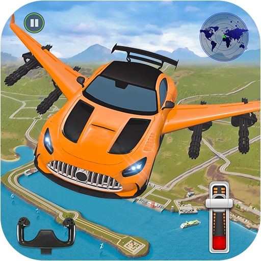 Flying Car Shooting-Super Voiture Vol Simulateur