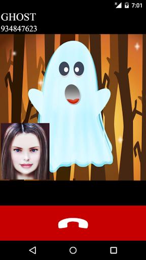 ghost fake video call game  screenshots 1