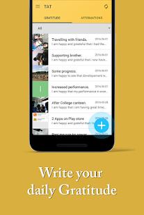 Gratitude Journal w/ Affirmation Reminder TAT App