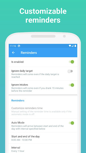 Foto do Drink Water Reminder and Hydration Tracker - BeWet