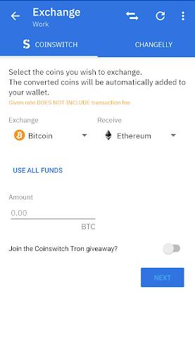 Coinomi Wallet :: Bitcoin Ethereum Altcoins Tokens 1.20.0 Screenshots 2