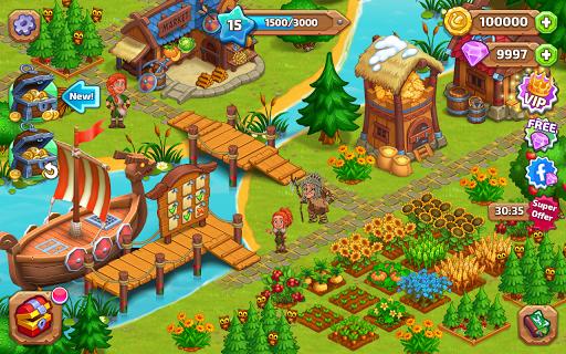 North Dragon Farm - Vikings craft and build 1.10 screenshots 1