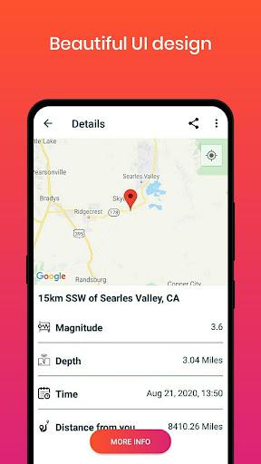 Earthquake Alerts 1.0.4 Screenshots 4