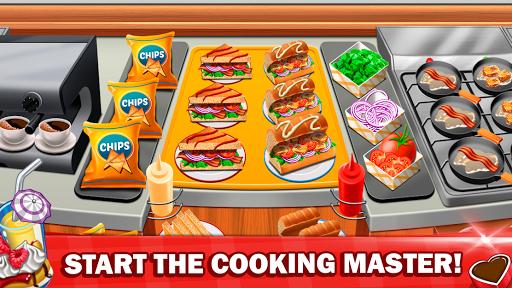 Télécharger Jeux de cuisine 2020 Restaurant Fever Master Craze APK MOD (Astuce) screenshots 1