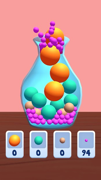 Ball Fit Puzzle Android App Screenshot