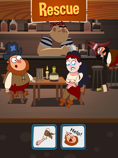 Save The Pirate! Make choices - decide the fate  screenshots 9