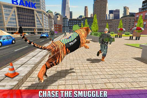 Police Tiger Chase Simulator: City Crime Apkfinish screenshots 5