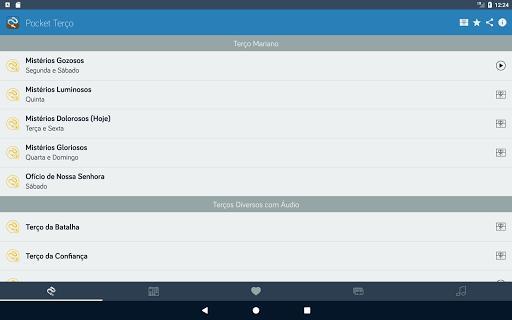 Pocket Teru00e7o - Teru00e7os, Liturgia, Orau00e7u00f5es, Mu00fasicas apktram screenshots 13