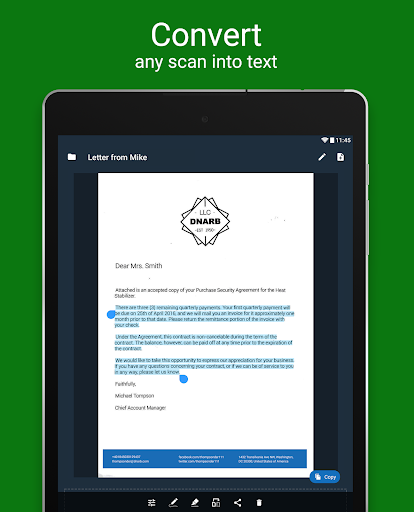 Scan Hero: Document to PDF Scanner App 1.47.0 Screenshots 13