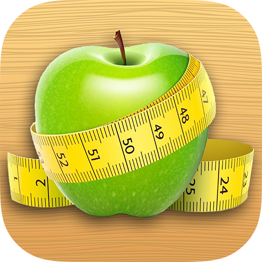 Losing weight. Diary of calories icon