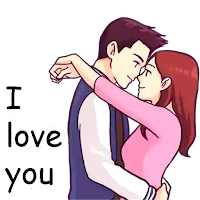 Download Cute Couple Love Stickers For Whatsapp Free For Android Cute Couple Love Stickers For Whatsapp Apk Download Steprimo Com