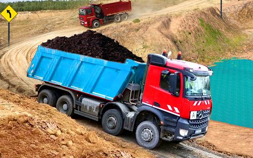 Truck Simulator Transport Driver 3D : Europe Truck 1.6 Screenshots 1