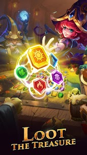 War and Wit: Heroes Match 3 APK MOD HACK (Always Skill) 3