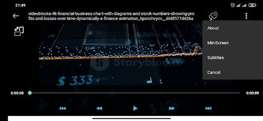 Video player Apkfinish screenshots 3