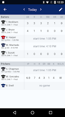 Sports Alerts - MLB editionのおすすめ画像5