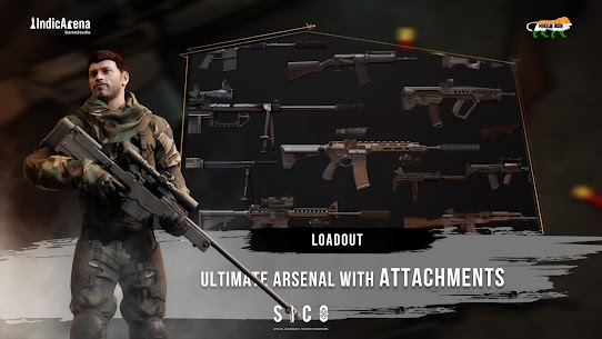 SICO™: SPECIAL INSURGENCY COUNTER OPERATIONS MOD APK (Unlimited Ammo) 4