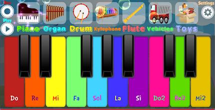 Kids Piano screenshot thumbnail