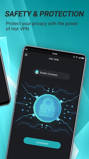 Hot VPN - Free, Fast & Super VPN Proxy modavailable screenshots 4