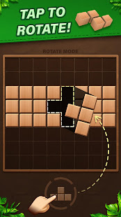 Fill Wooden Block 8x8: Wood Block Puzzle Classic