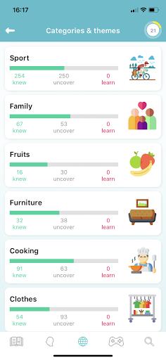 WordUp Vocabulary 3.0.1 Screenshots 7