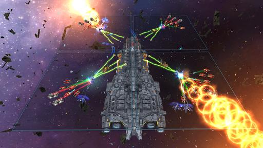 Space Ships WAR: Unique TD Battles apkpoly screenshots 12