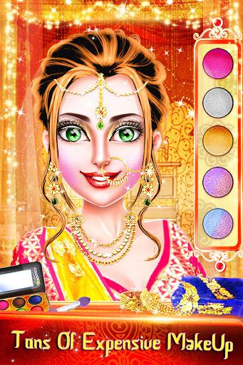 Traditional Wedding Salon - Makeup & Dress up Game Apkfinish screenshots 1