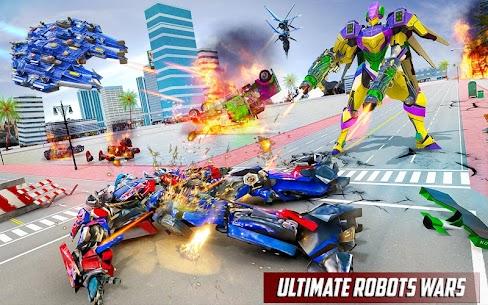 Police Truck Robot Game – Transforming Robot Games 9