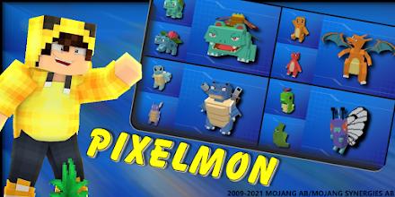 Mod SERP Pixelmon: Legendary PokeCraft screenshot thumbnail