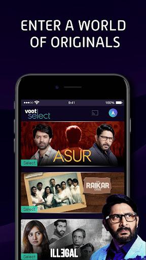 Voot Select Originals, Bigg Boss, MTV, Colors TV 4.0.5 screenshots 1