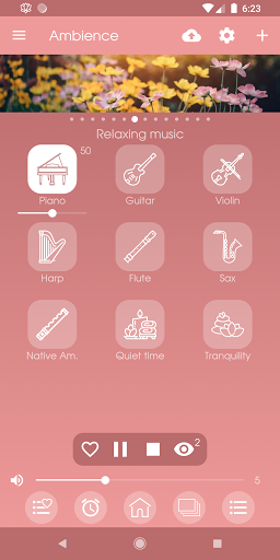 Ambience - Nature sounds: sleep and meditation android2mod screenshots 4