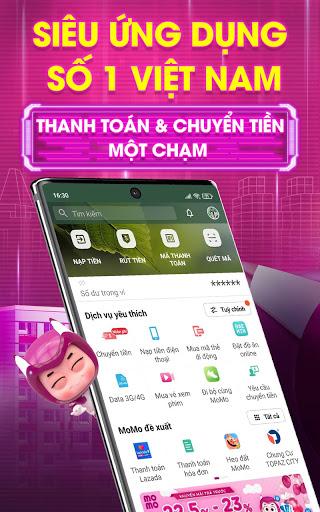 MoMo: Chuyển tiền & Thanh toán  screenshots 1