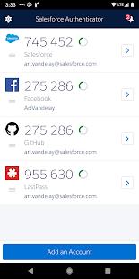 Salesforce Authenticator 3.7.1 Screenshots 4