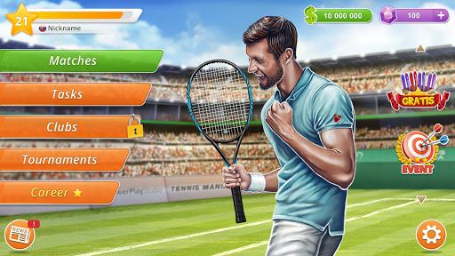 Tennis Mania Mobile screenshots 8